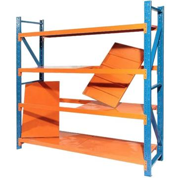Warehouse Roll Formed Steel Structural 2 Ton Capacity Shelving And Pallet Rack